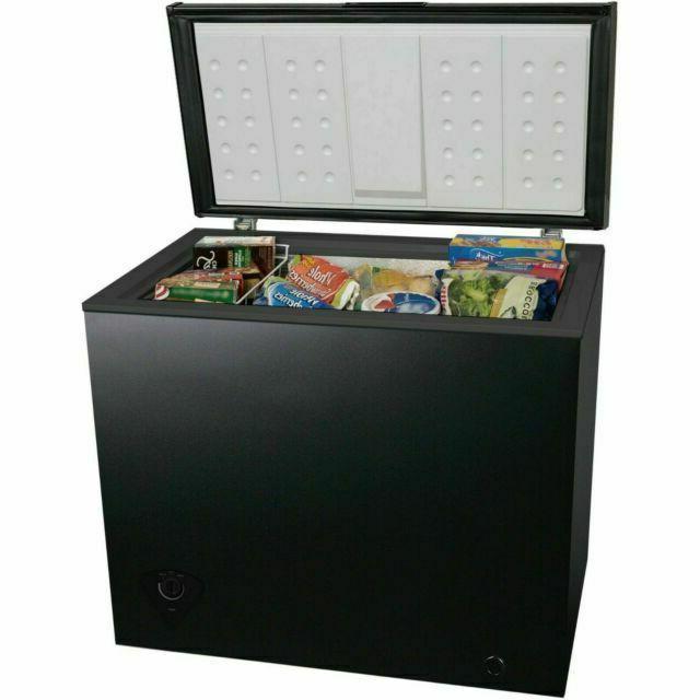 7 cu ft chest freezer black whs