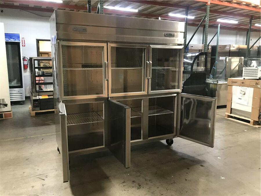 """72"""" Commercial 6 Refrigerator In NEW"""