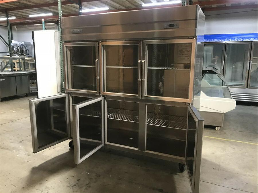 """72"""" Commercial Refrigerator Freezer Combo In NEW"""