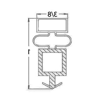 True Door Gasket Models T, GDM
