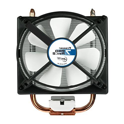 ARCTIC – Compact CPU Cooler | mm PWM Fan | For AM4 Intel CPU | Recommended to W TDP