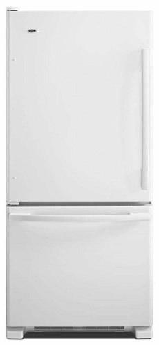 Amana - 18.6 Cu. Ft. Bottom-freezer Refrigerator - White