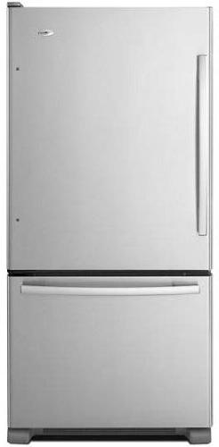 Amana - 22.1 Cu. Ft. Bottom-freezer Refrigerator - Stainless