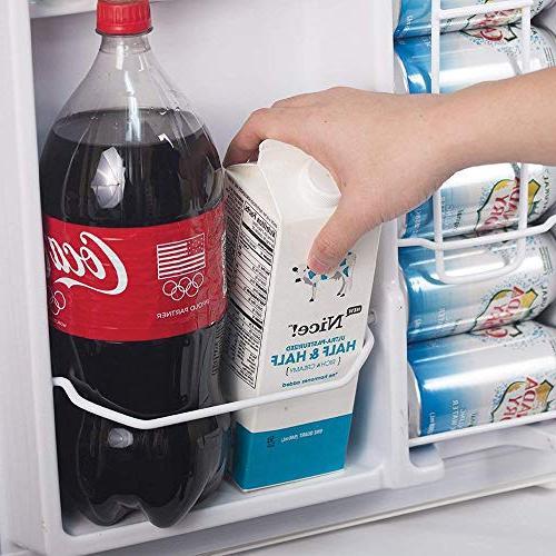 Commercial CCRD32W Double Door with True Freezer, Ft. Mini Fridge,