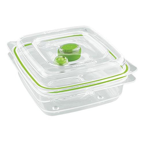 FoodSaver Fresh Vacuum Seal and Containers, 4-Piece 2 Produce Trays