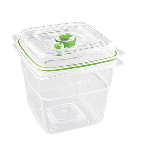 FoodSaver FA4SC35810-000 Fresh Seal Food Containers, Set 2 Produce Trays