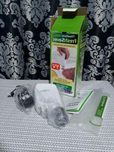 Freshsaver - Freshsaver Handheld Vacuum Sealer - White