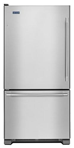 Maytag - 22.1 Cu. Ft. Bottom-freezer Refrigerator - Stainles