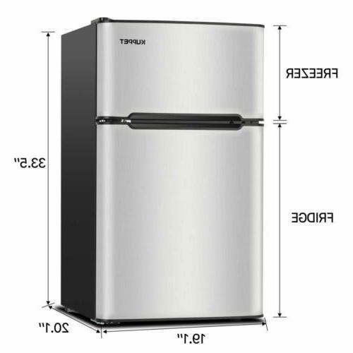 3.2 Double Door Mini Refrigerator