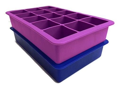 Perfect Silicone Cube Tray, Set of 2, Odor Aftertaste!