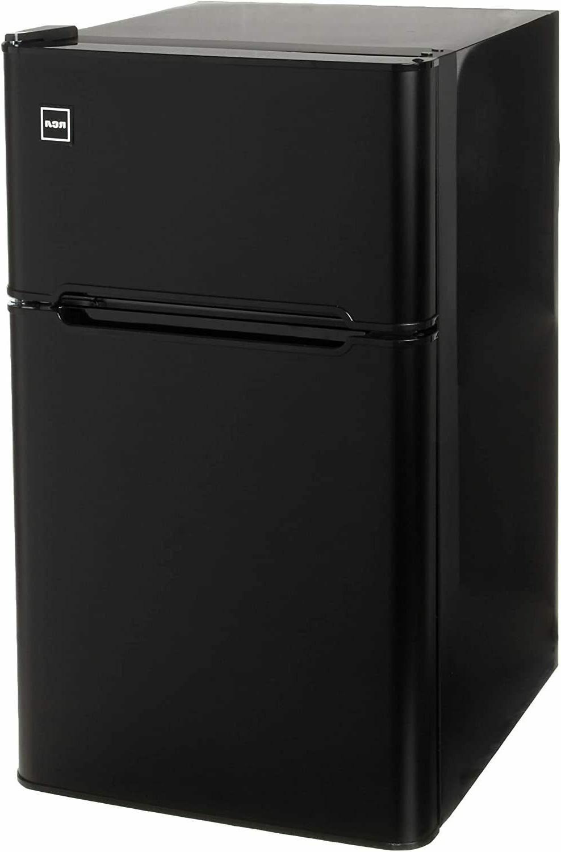 2 Fridge Freezer, Black