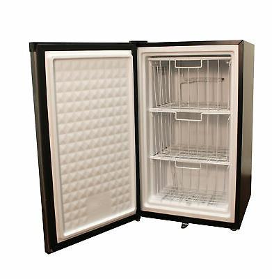 Spt Ft. Upright Freezer Stainless Steel/black