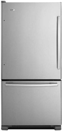 Amana ABB1924BRM 18.5 Cu. Ft. Stainless Steel Bottom Freezer