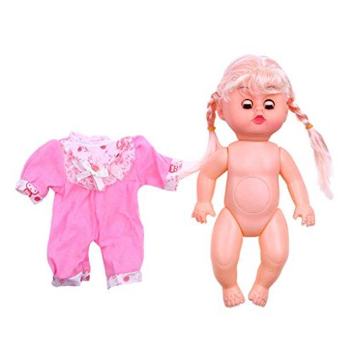 AMOFINY Baby Toys Large Simulation Doll Blinking Movable & Legs Sounds Kids Toy