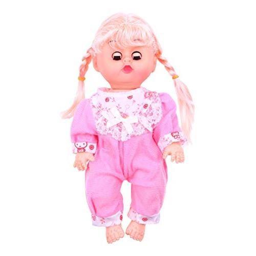 AMOFINY Large Simulation Doll Cute Baby Doll Playsets Blinking Movable & Legs Simulation Sounds Kids Toy
