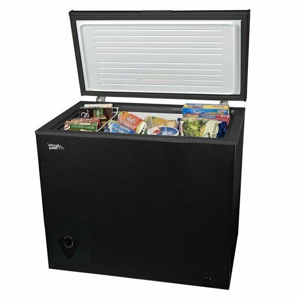 7 cu ft chest freezer black newin