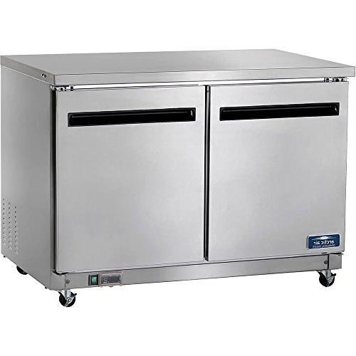 auc48r undercounter refrigerator solid door