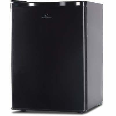 Black Commercial Cool 2.6 cu.ft. Refrigerator/ Freezer