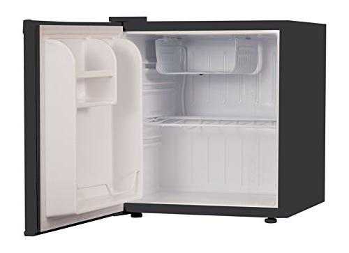 Commercial Cool CCR16B Single Refrigerator and Freezer, Mini Black