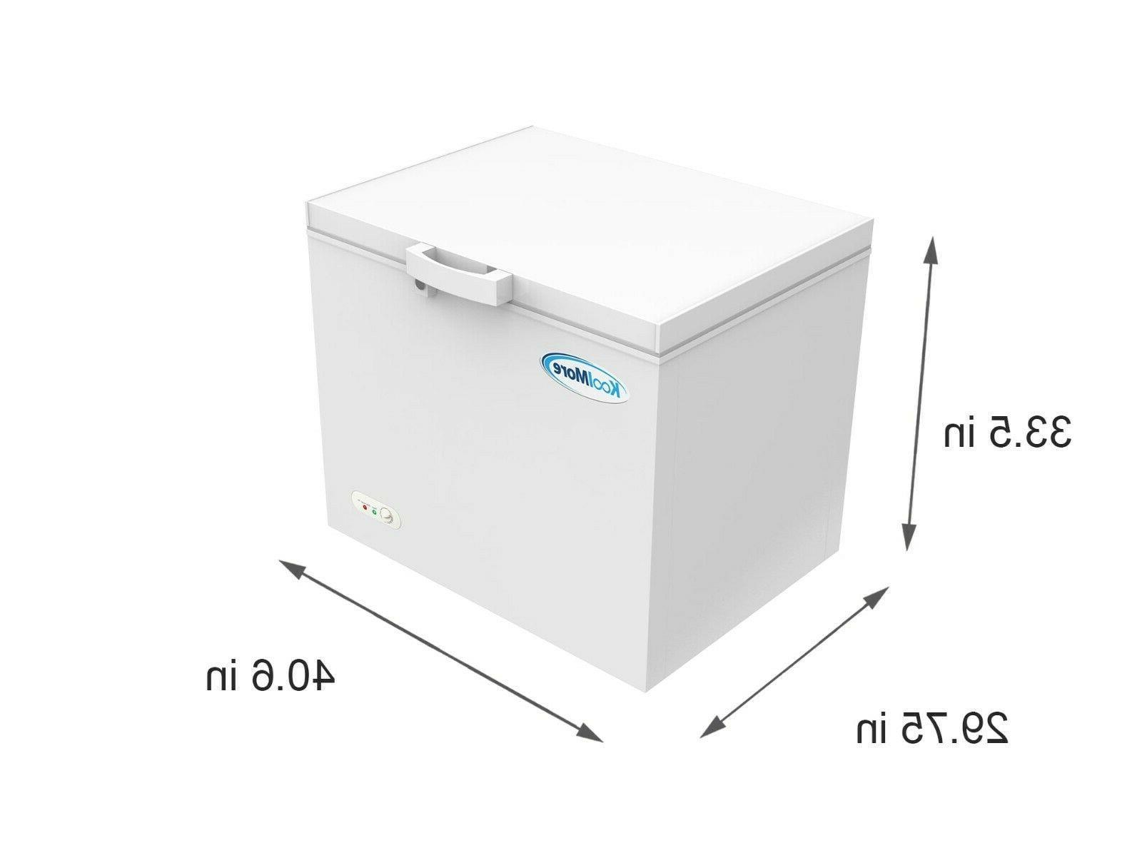 Chest Freezer 10 Ft. Adjustable For