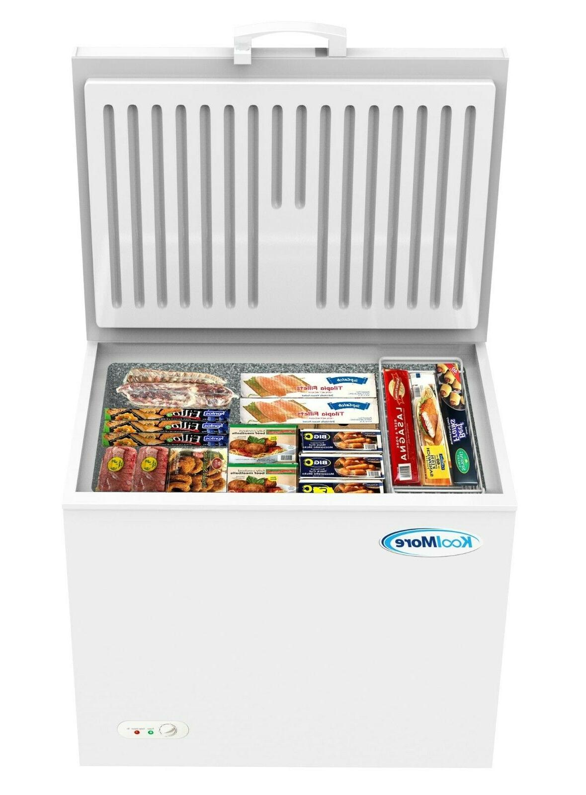 chest freezer 10 cu ft with adjustable