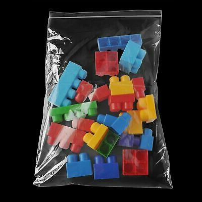 "2 Mil Clear Reclosable Bags 14"" x 20"" Freezer Storage Top Se"