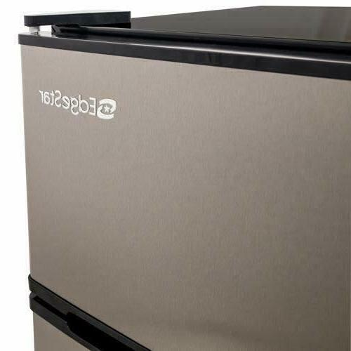 Compact Fridge Stainless Steel Cu. Energy Automatic
