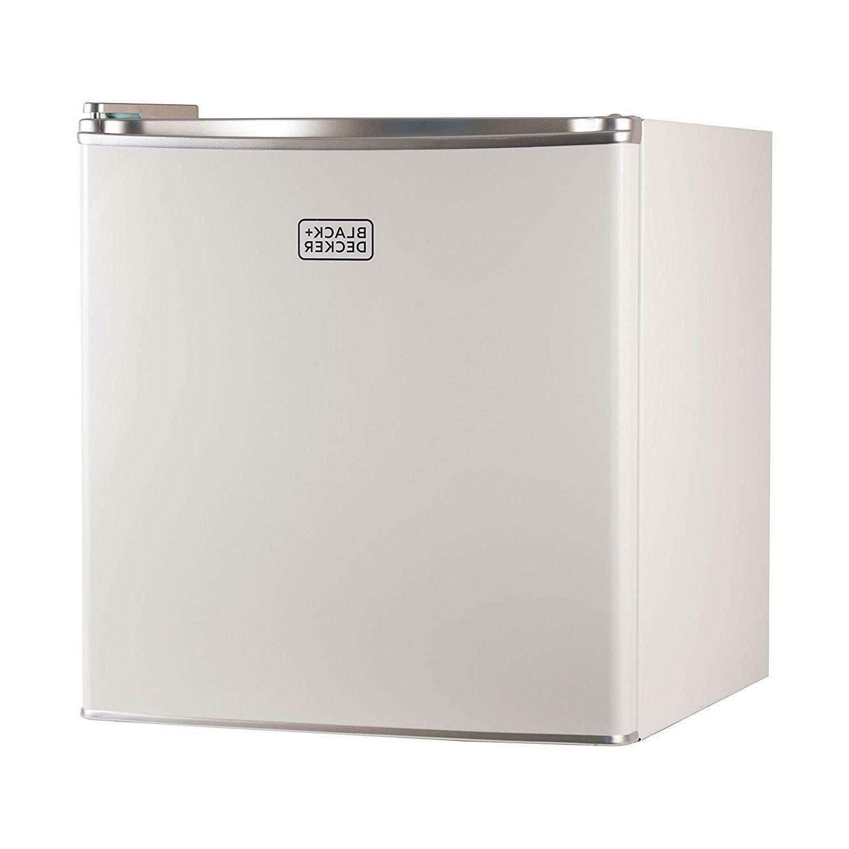 BLACK+DECKER BCRK17W Compact Refrigerator Energy Star Mini F