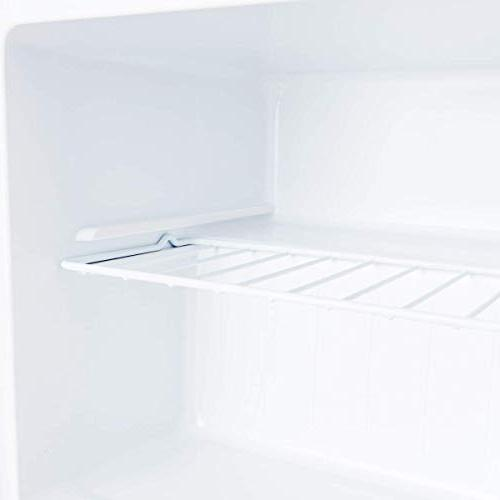 COSTWAY Upright Freezer Size with Reversible Stainless Steel Door - CUFT Adjustable Removable
