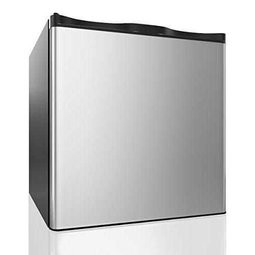 compact single door upright freezer
