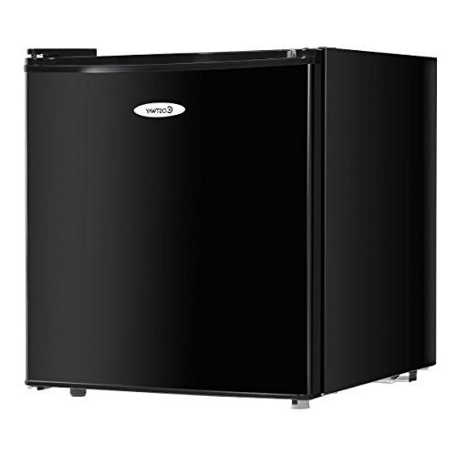 compact stainless steel refrigerator freezer
