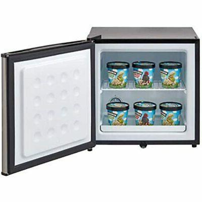 Whynter Energy 1.1 Freezer Stainless Steel