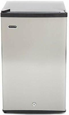 Whynter CUF-210SS Energy Star Upright Freezer, 2.1