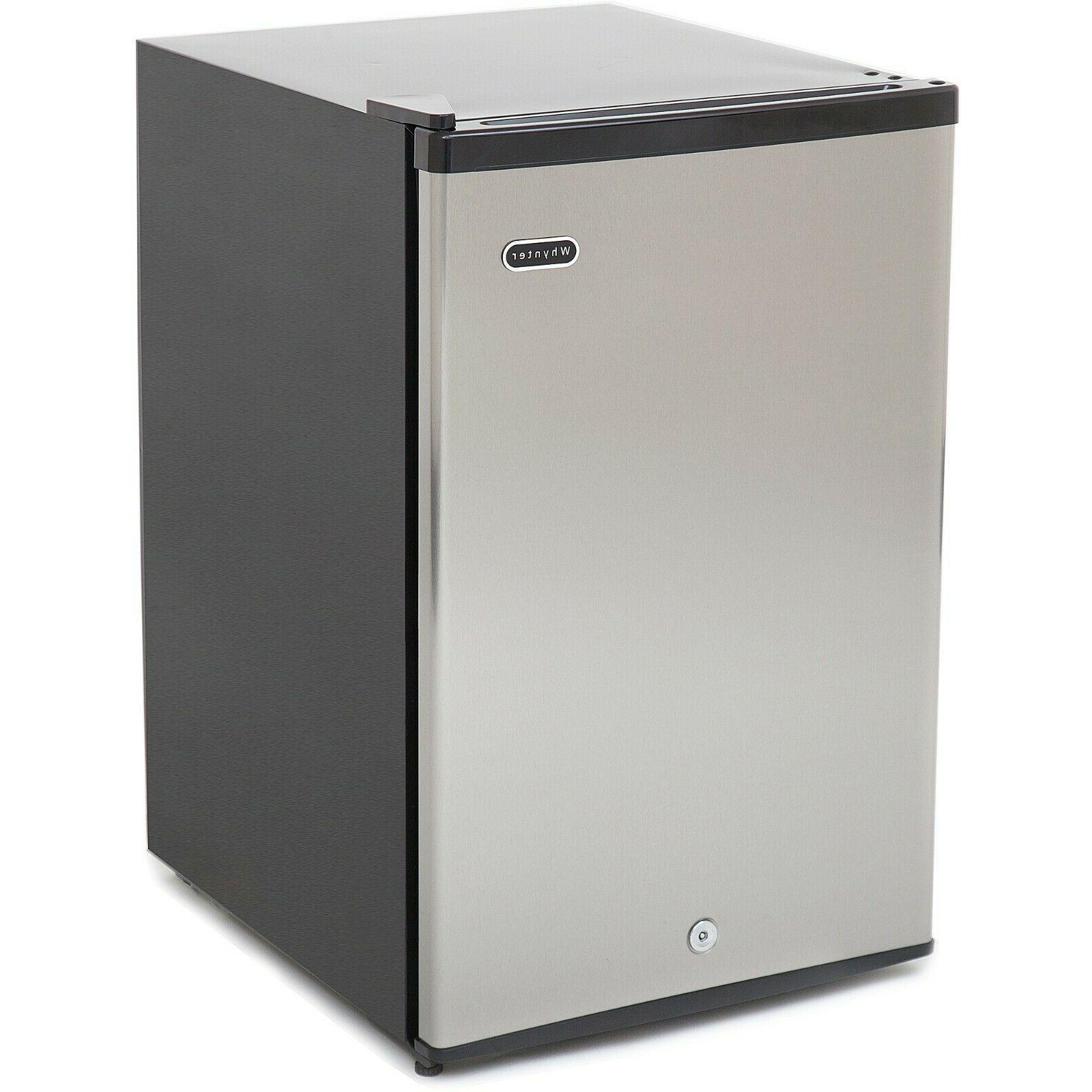 cuf-210ss energy star upright freezer, 2.1 cubic feet