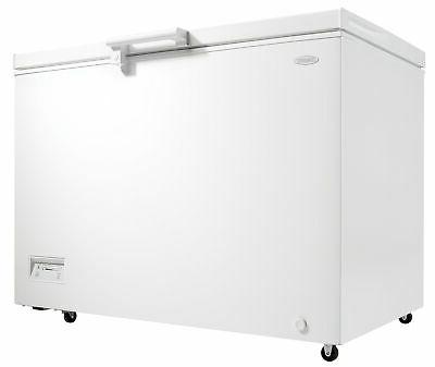 Danby DCFM110B1 Wide 11 Cu. Ft. Capacity Chest Freezer with Adjustable W
