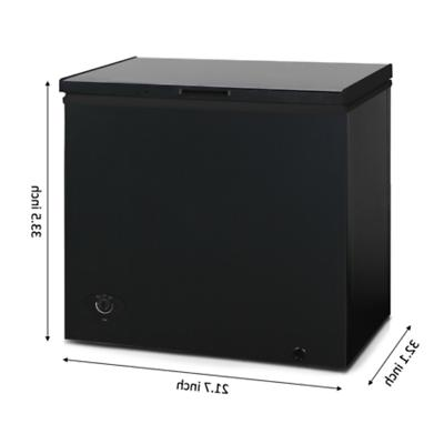 Deep Freezer Chest 7 Cu Ft Upright Dorm Black