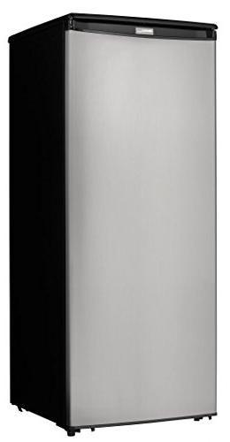 Danby Designer cu. Freezer Stainless Steel