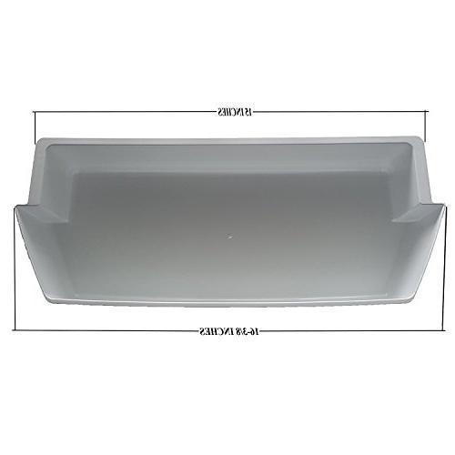 2-Pack Door Shelf Bins 2187172 Replacement Whirlpool Kenmore Refrigerator