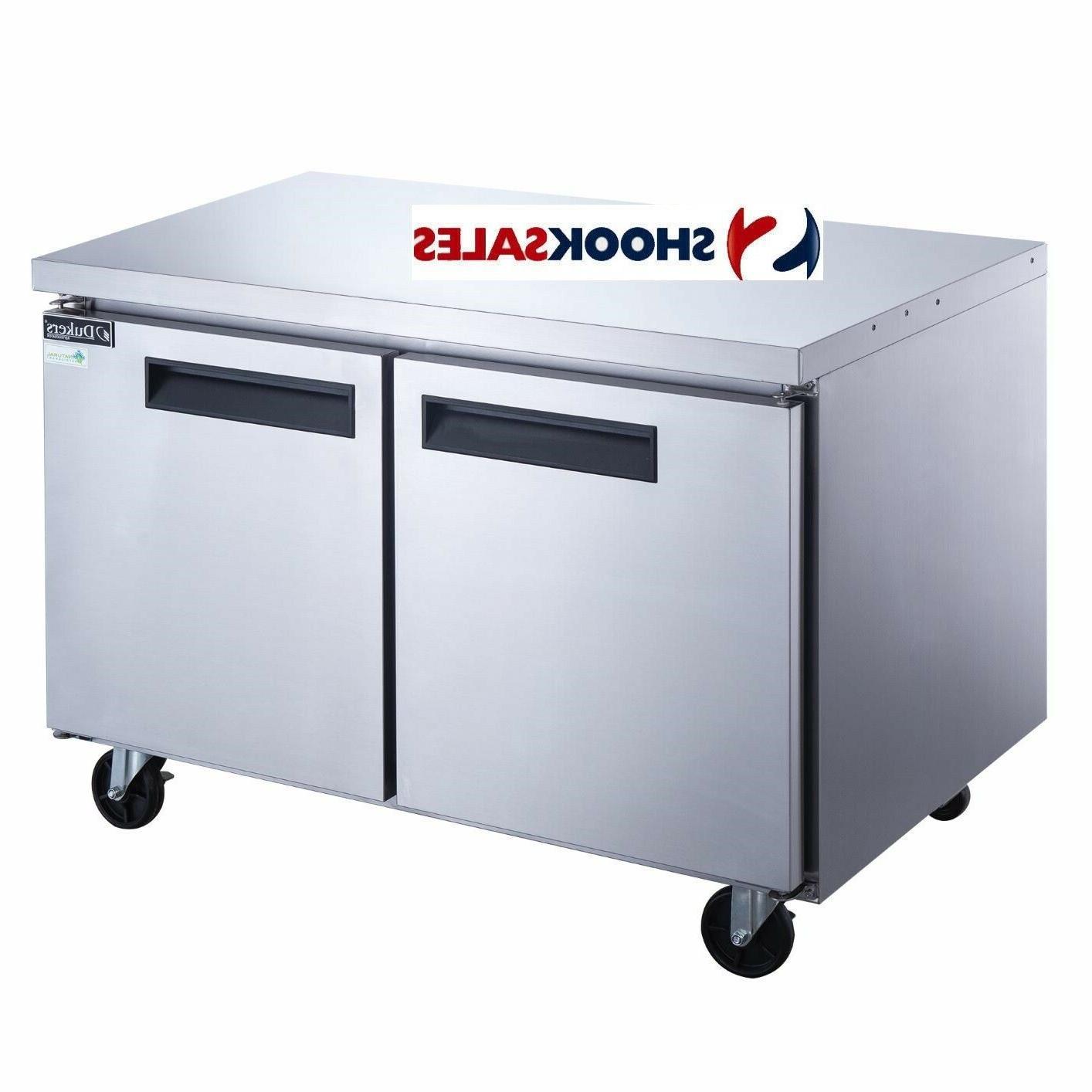 duc60f 60 inch undercounter freezer 15 5