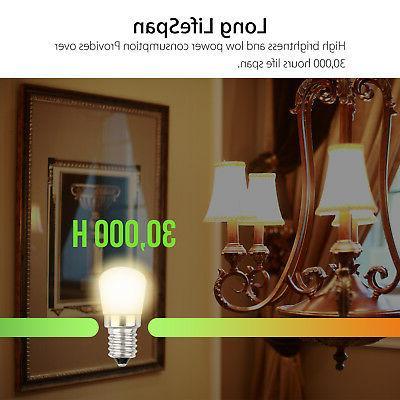 E14 Light SMD2835 Refrigerator Freezer Cool/Warm White Lamp
