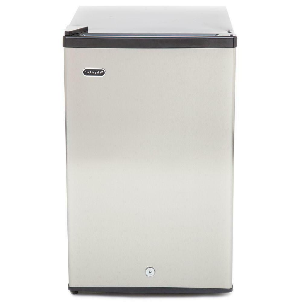 Whynter 2.1 cu. ft. Energy Star Stainless Steel Upright Free
