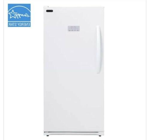 13.8 cu. ft. Energy Star Digital Upright Deep Freezer - Whit