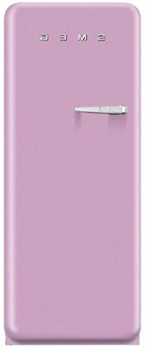 Smeg FAB28UPKR1 50s Style 9.2 Cubic Feet Pink Right-hand Ref