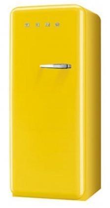 "Smeg FAB28UYWR1 24"" 50s Retro Style Top-Freezer Refrigerator"