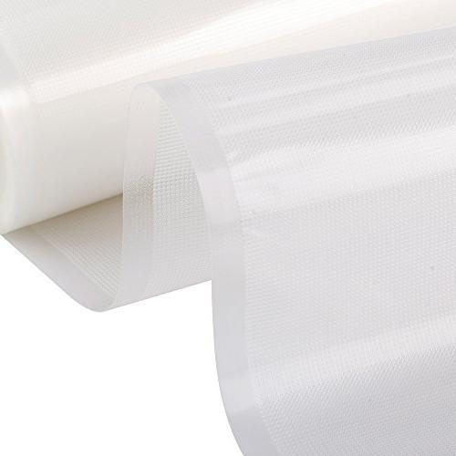 Two x Vacuum Sealer Rolls Storage and Free Seal Rolls 11X50Vacuum Sealer - Make Your Own