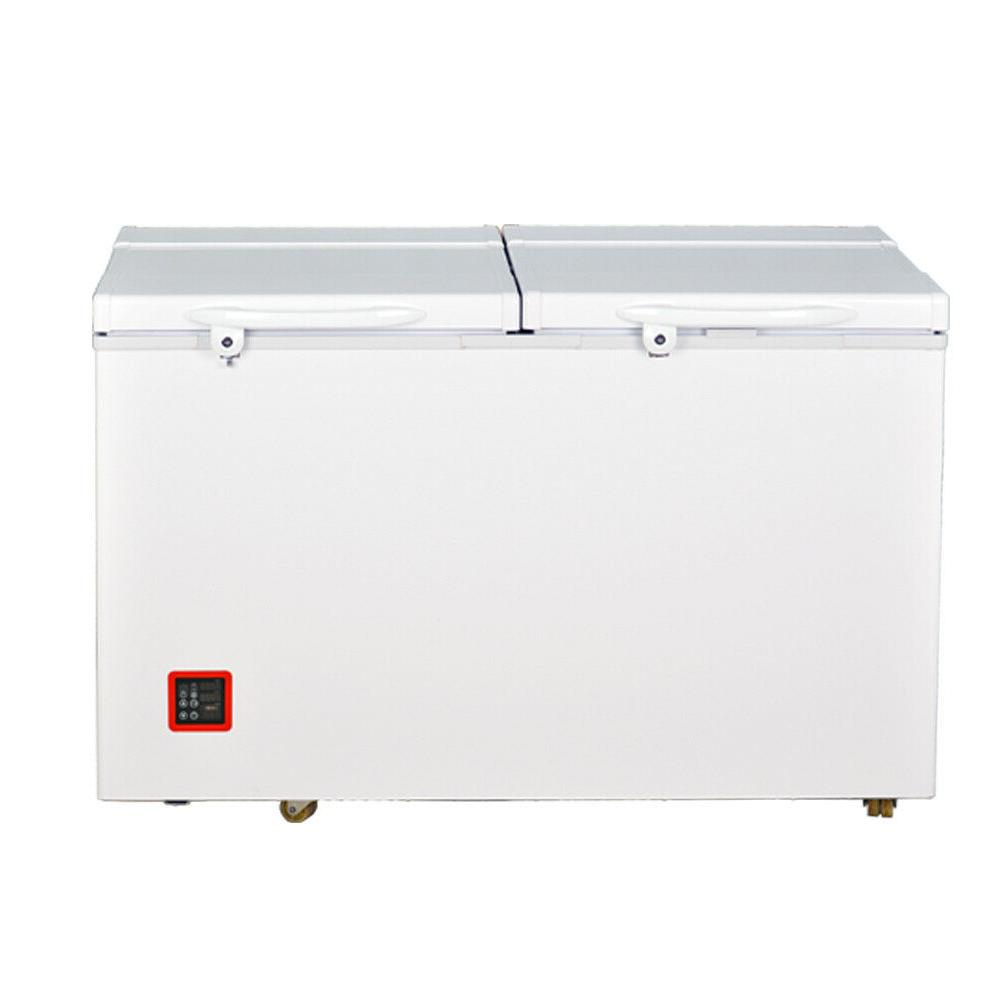 95 Qt. Portable Wheeled Freezer with Door Alert