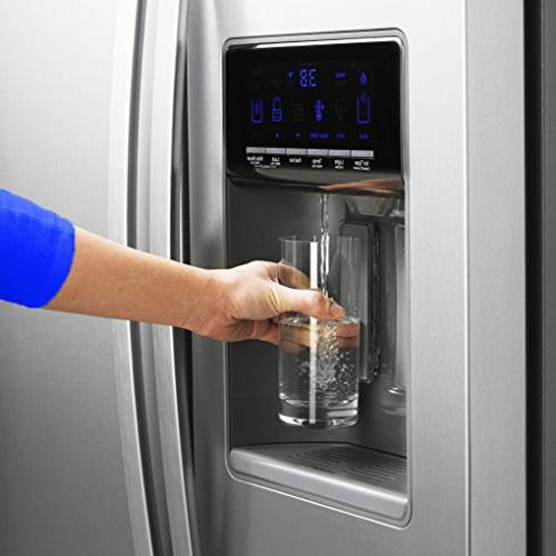 Refrigerator Water For Models 4396395, EDR4RXD1, UKF8001AXX Found Leading Side-By-Side Door By Freshflow