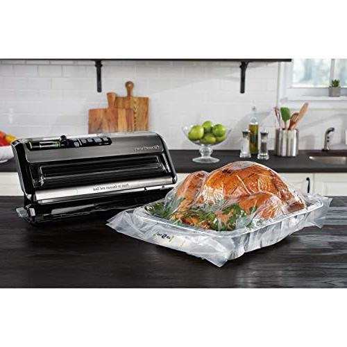 "FoodSaver System with Handheld Sealer and Starter Kit FoodSaver 11"" x Easy Seal & Vacuum Pack"
