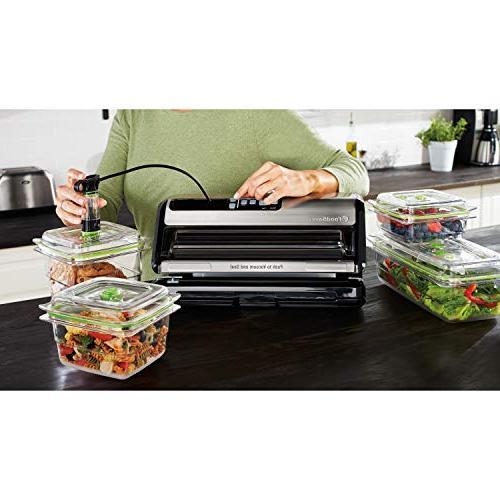 FoodSaver System Handheld and FoodSaver x 14' Easy Seal & Peel Vacuum Seal Pack