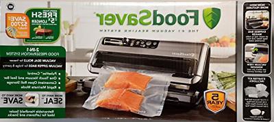 fm5480 vacuum food saver sealing